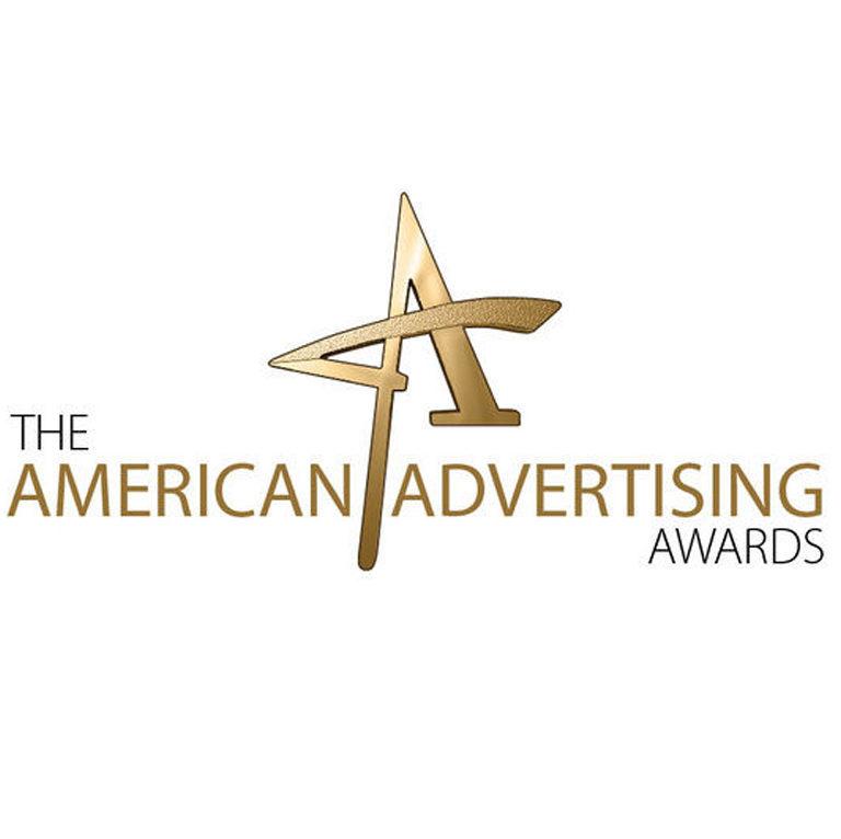 "Addy Award logo reading ""The American Advertising Awards"""