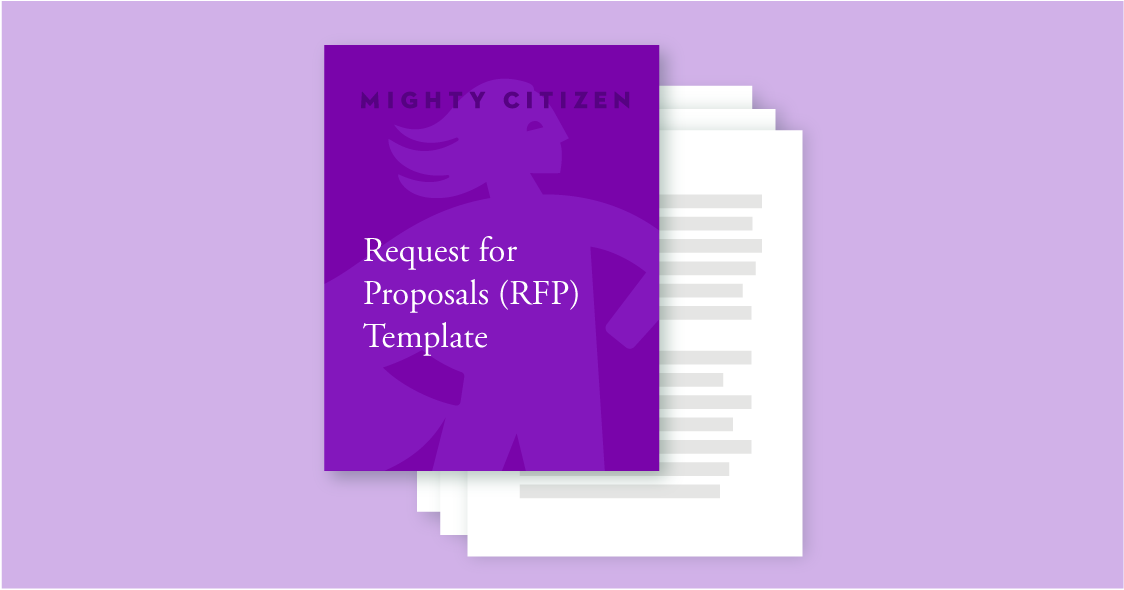 Request for Proposals RFP Template request for